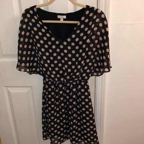 0c2a7990cebe Charming Charlie Dresses & Skirts - Charming Charlie polka dot dress